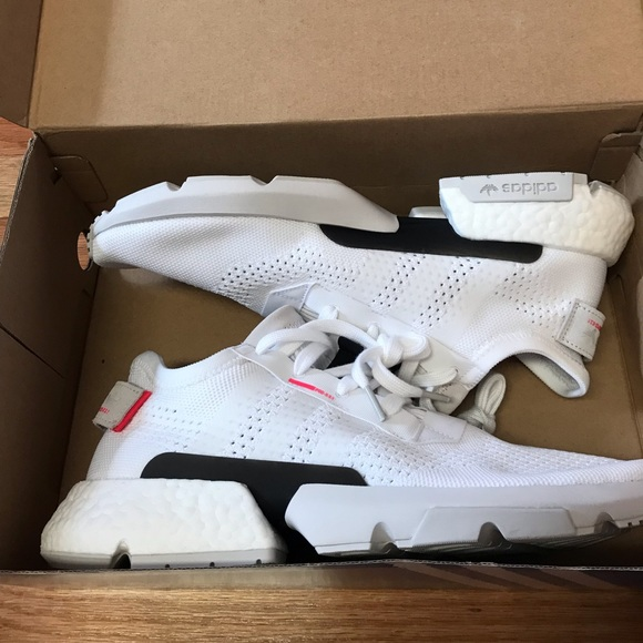 New adidas pod s3.1 cloud white shoes mens size 11 NWT